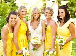 Yellow Dresses For Weddings The 25 Best Yellow Bridesmaids Ideas On Pinterest Yellow