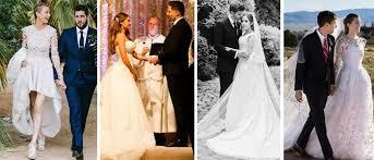 Celebrity Wedding Dresses Wedding Online Brides The Most Fabulous Celebrity Wedding