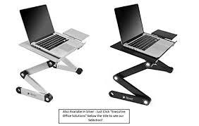 Laptop Desk Stand Executive Office Solutions Portable Adjustable Aluminum Laptop