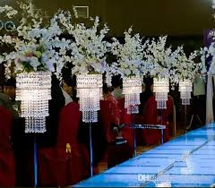Tabletop Chandelier Centerpiece by No Flower And Light Including Table Top Chandelier Centerpieces