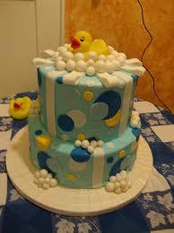 rubber ducky baby shower cake laura varela flickr