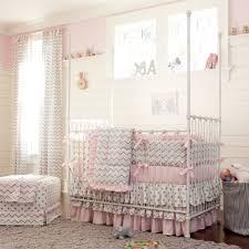 Grey Chevron Crib Bedding Set Home Design 87 Astonishing Baby Girl Bedding Sets For Cribss