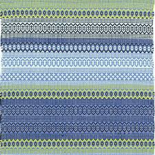 Blue And Green Outdoor Rug Dash And Albert Stripe Blue Green Indoor Outdoor Rug