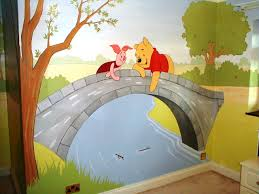 winnie the pooh murals