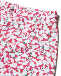 pajamas with peanuts print pink benetton