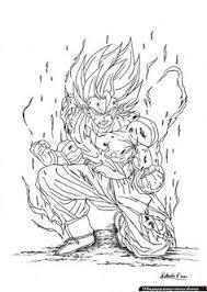 resultado de imagen para dibujos a colores de goku dibujos para