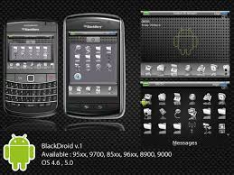 themes mobile black berry android wannabe blackberry theme all about themes gadget
