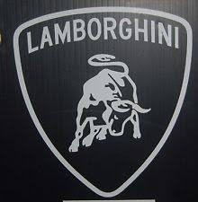 lamborghini logo lamborghini sticker ebay