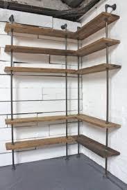 Corner Bookcase Unit Wall Mounted Corner Shelving Unit Foter