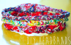 fabric headband tutorial braided scrap fabric headband sewing