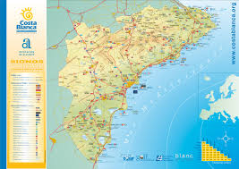 Paper Towns On Maps Map Costa Blanca