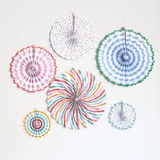 paper fans decorations decoration toot sweet paper fan decorations children s