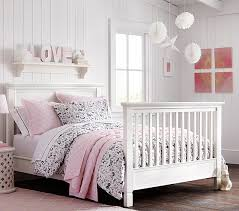 How To Convert Crib To Bed Larkin Crib Bed Conversion Kit Pottery Barn