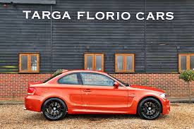 bmw 1 series m coupe 3 0 twin turbo in valencia orange for sale at