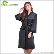 robe de chambre grande taille femme femmes grande taille faux satin de soie nuit kimono robe