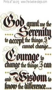 serenity prayer original tattoos and 12 step spiritual recovery