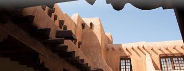 Adobe Style Houses by Tourism Santa Fe Santa Fe Architecture