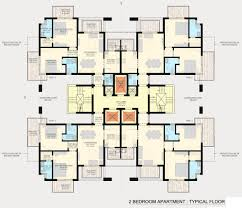 image of a 3 bedroom flat plan home design ideas