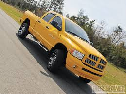 Dodge Ram Yellow - 2005 dodge ram 2500 killer b cummins diesel power magazine