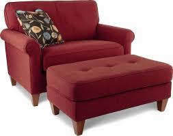 ottomans overstuffed chair and half with ottoman blue armchair