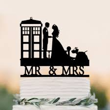 dr who wedding cake topper bolo de casamento topper tardis doctor who tardis wedding cake