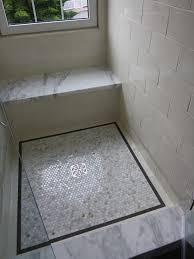 Bathroom Shower Floor Ideas White Sparkle Bathroom Floor Tiles Ideas And Pictures Mosaic