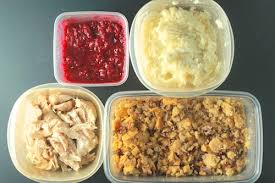 thanksgiving leftovers salad with mashed potato cakes and