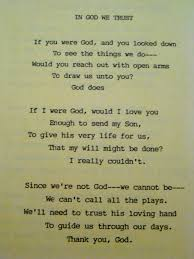 poem about thanksgiving to god a quiet steady faith things i want to tell my mother