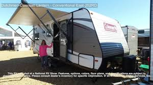 coleman travel trailers floor plans dutchmen coleman lantern conventional east 202rd youtube