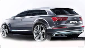 audi jeep 2015 2016 audi q7 design sketch hd wallpaper 43