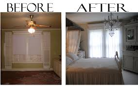 Before And After Bedroom Makeovers - before and after bedroom makeover pictures pretty romantic and