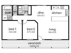 2 bedroom home floor plans house on the trailer affordable small modular homes 20 x