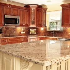 In Line Kitchen Remodeling Miami With Dark Cherry Wood Cabinets - Panda kitchen cabinets