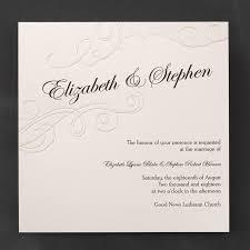wedding invitations australia embossed pearl swirls wedding invitations flamingo
