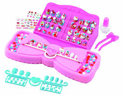aqua beads style hello kitty nail art studio amazon co uk toys