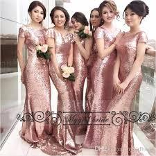 gold bridesmaid dresses sequin gold bridesmaid dresses sleeve blush