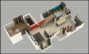 2bhk house plans exciting simple 2 bhk rowhouse plan 3d ideas ideas house design