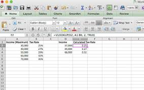 2016 optional state sales tax table doing your taxes 5 excel formulas you must know