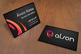 tarjeta de visita diseo diseño tarjetas de visita