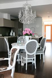 Dining Room White And Grey Fabric Chairs Wayne Home Decor With - Grey fabric dining room chairs