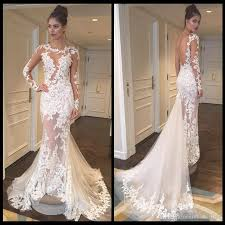 engagement dresses see through vintage wedding dresses sleeves sheer scoop