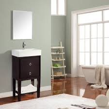 Home Design Outlet Center Avanity Kent 18 In Vanity In Coffee Finish With Integrated