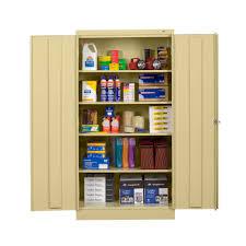 Storage Cabinet Tennsco Storage Made Easy Standard Storage Cabinet Assembled