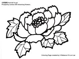 miss panda chinese chinese new year coloring page prosperity with