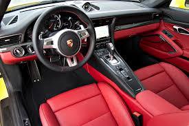 Porsche 911 Turbo S Interior Porsche 2015 911 Turbo S Pdk 2 Door Awd Coupe London Motorcars