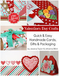valentine u0027s day crafts ink it up with jessica card making