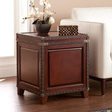 Living Room End Table Decor Trunk End Table Design For Modern Living Room Furniture Planaut