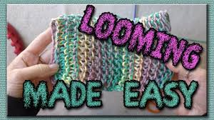 learn the basic stitches for loom knitting dish cloths youtube
