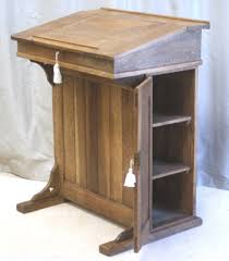 Lectern Desk Antique Oak Clerks Desk Lectern Reception Desk