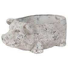 Pig Decor For Home by Pearle Pig Decor Bowl Grey Decorative Accents Décor Urban Barn
